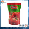 High Barrier AlOx-PET Stand Up Pouch for Catsup Packaging