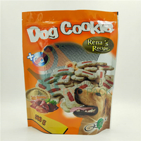 Custom Printing Foil Metallized Stand Up Zipper Pouch for Dog Food