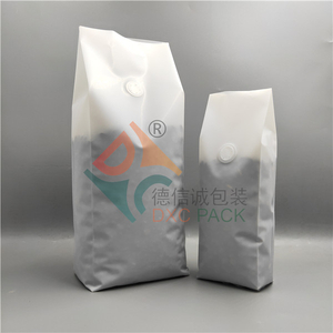 Printing Side Gusset Coffee Packaging Recyclable with Wipf Valve