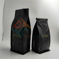 1kg Flat Bottom Metallized Coffee Bags with Hot Stamping
