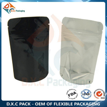 Food Grade Customized Transparent Aluminum Foil Packaging Bag With Zipper