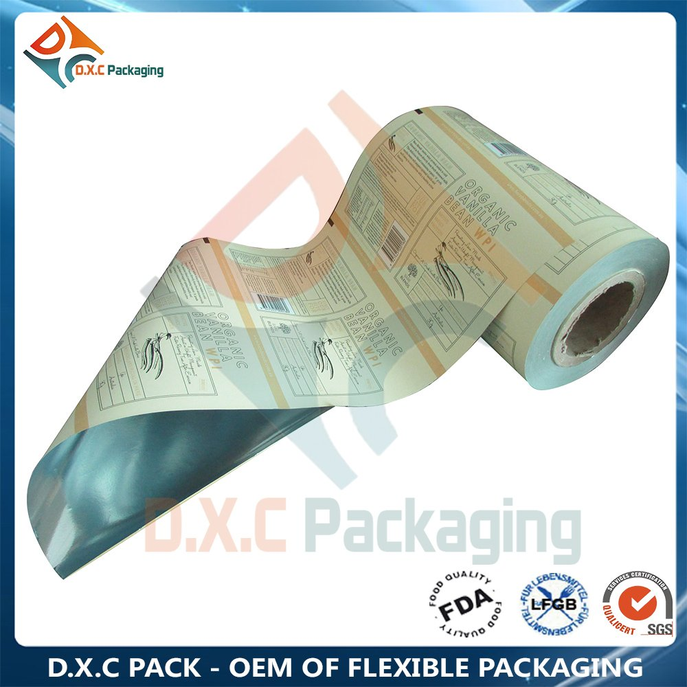 Foil Laminated Roll Film for Automatic Packing Food