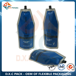 Shaped Spout Pouch for Liquid Packaging