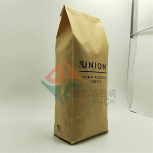 40oz (1kg) side gusset kraft coffee bags