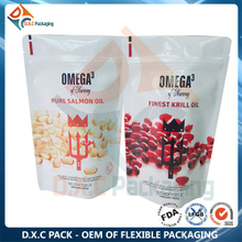 Health Food Packaging Bag Pouch With Zipper
