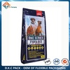 10kg Custom Print Metalized Quad Sealed Pet Food Packaging Bag with Zipper