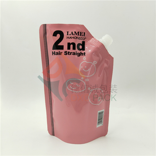 Liquid Packaging Stand Up Aluminium Foil Bag with Corner-mounted Spouts