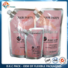 500ml and 1000ml Liquid Stand Up Spout Pouches for Hair Dye